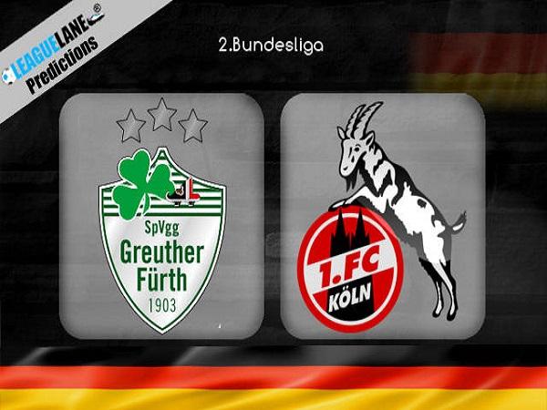 Dự đoán Greuther Furth vs Cologne, 1h30 ngày 7/05