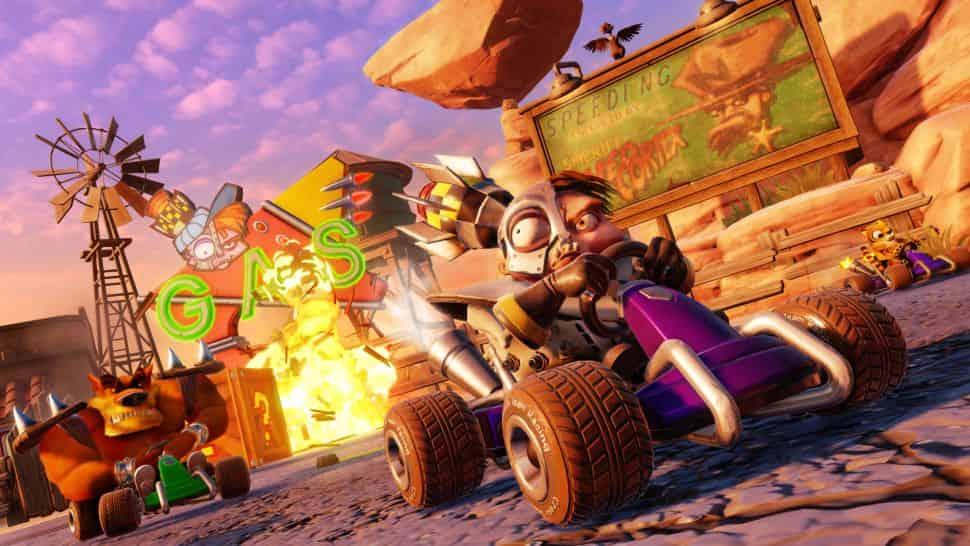 Crash Team Racing: Nitro-Fueled là một chuyến đi vô cùng thú vị trong ký ức