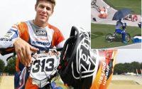 Tin thể thao chiều 28/7: Ứng viên HCV đua xe đạp BMX gặp tai nạn